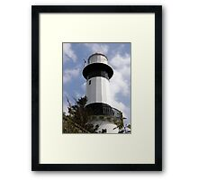 Shrove Light House County Donegal Ireland Framed Print