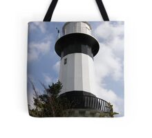 Shrove Light House County Donegal Ireland Tote Bag
