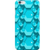 geometric seamless pattern with hexagons iPhone Case/Skin