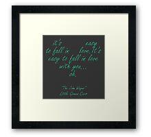 """Little Green Cars """"The John Wayne"""" Framed Print"""