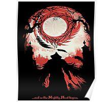 Bloodborne - Nightly Hunt Poster
