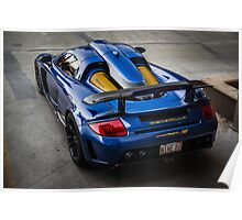 Gemballa Mirage GT From Above Poster