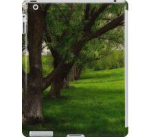 Under the shade trees iPad Case/Skin