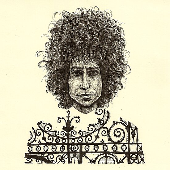 Bob Dylan by brettisagirl