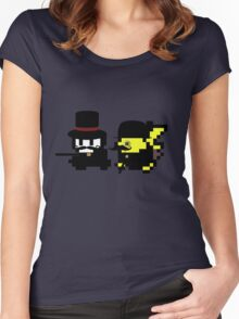 Pokemon Gentlemen Women's Fitted Scoop T-Shirt