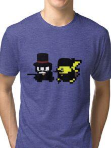 Pokemon Gentlemen Tri-blend T-Shirt