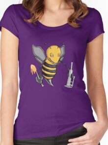 Bee Dab (No Text) Women's Fitted Scoop T-Shirt