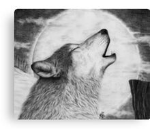 Alpha Howl Canvas Print