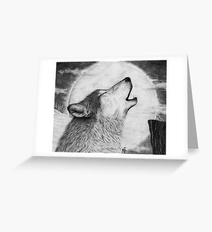 Alpha Howl Greeting Card