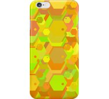 geometric seamless pattern with hexagons-3 iPhone Case/Skin