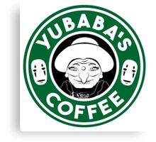 Yubaba's Coffee Canvas Print