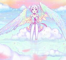 When heaven meets earth by Hyanna