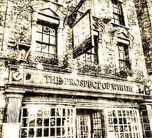 The Prospect Of Whitby Pub London Vintage by DavidHornchurch