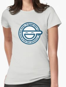 Ghost in The Shell Laughing Womens Fitted T-Shirt