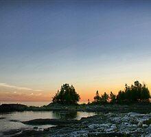 sunset by JohnKeeley