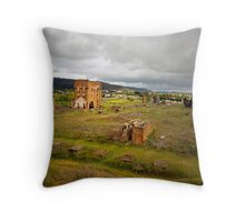 Blast Furnace Ruins, Lithgow NSW Throw Pillow