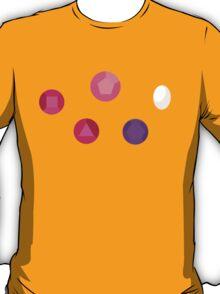 Earth Gems Pattern T-Shirt