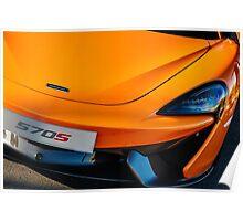 McLaren 570S Front Poster