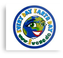 Every day Earth day Metal Print