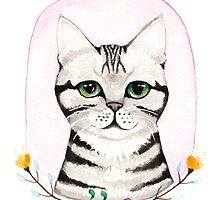 A Silver Tabby Portrait by Ryan Conners