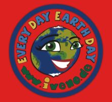 Every day Earth day Kids Tee