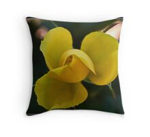 Yello Mello Throw Pillow