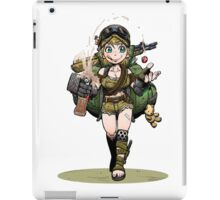 Fallout girl iPad Case/Skin