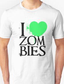 I <3 Zombies. T-Shirt