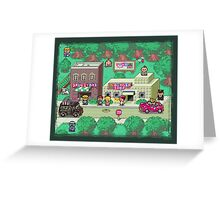 Earthbound Town Greeting Card