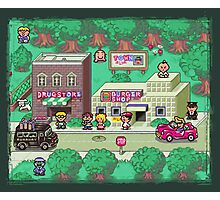Earthbound Town Photographic Print