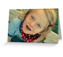 the age of innocence Greeting Card