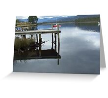 Reflections on The Huon Greeting Card