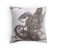 Dragon (original) Throw Pillow