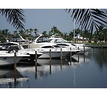 Boating Community Photographic Print
