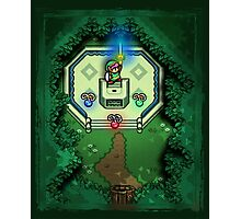 Zelda Link to the Past Master Sword Photographic Print