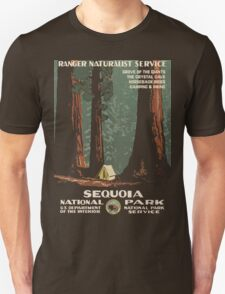 Vintage Sequoia Poster  T-Shirt