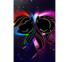 Rainbow Dash and Fluttershy Photographic Print