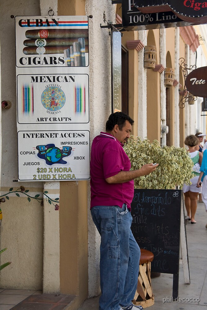 Cuban Cigars, Mexican Art by phil decocco