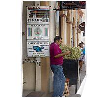 Cuban Cigars, Mexican Art Poster