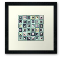 Lost in Squares III Framed Print
