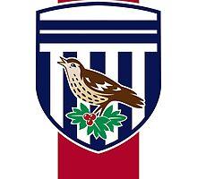 West Brom Crest Redesign by GlennTKD