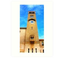 UWA Clock Tower Art Print