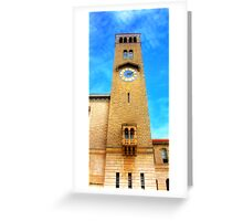 UWA Clock Tower Greeting Card