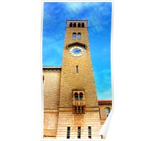 UWA Clock Tower Poster