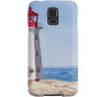 Peggys Cove Lighthouse Samsung Galaxy Case/Skin