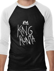 King Kunta Tee White | Kendrick Lamar Men's Baseball ¾ T-Shirt
