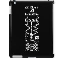 """arecibo message """"the answer"""" iPad Case/Skin"""
