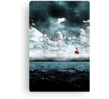 Red Pill Dive Canvas Print