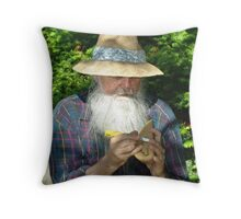 The Carver Throw Pillow