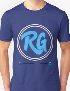 RG Logo with White Circles and Blue Lettering Unisex T-Shirt